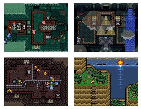Juego Legend of Zelda Origin de Zelda Classic