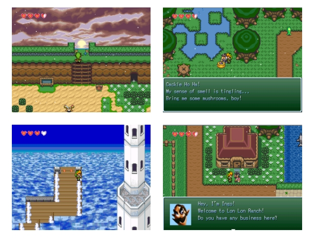 Juego The Legend Of Zelda Heros Destiny hecho con RPG Maker