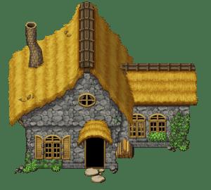 Tileset casa de campo