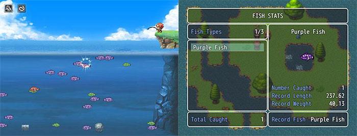 minijuego de pesca de Galv para RPG Maker MV