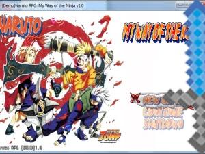 Naruto & Naruto Shippuuden para RPG Maker VX Ace